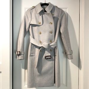 J.Crew Wool Cashmere Icon Trench Coat